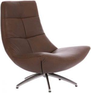 Rebound draaifauteuil, moderne fauteuil met een schitterend design