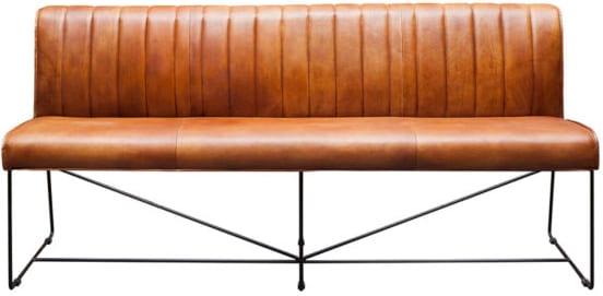 Draht 66 eetbank Design for Life - cognac