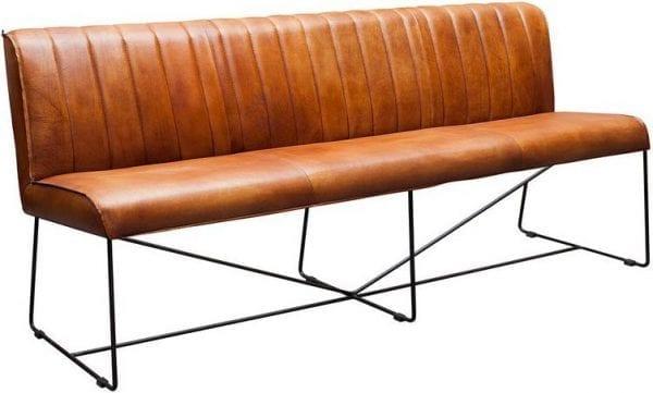 Bench 84 Design for Life - buffelleder cognac