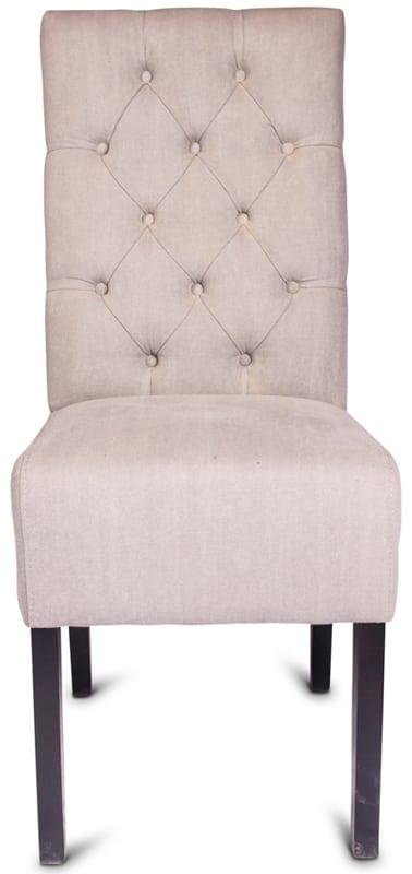 Liana stoel - landelijke eetkamerstoel met capiton - Zitzz
