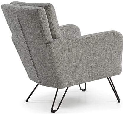 Fauteuil Luxor. comfortabele stoel in stof