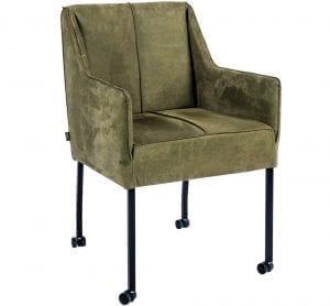 Checker armstoel van PMP - Nix Design, schitterende eetkamerstoel met een geweldig comfort en design!