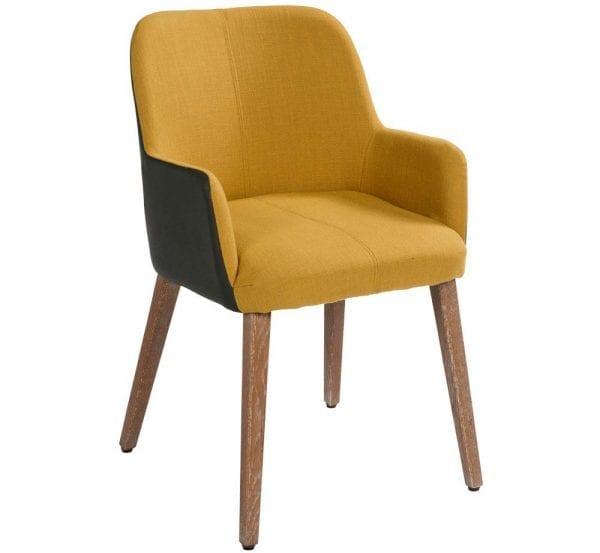 Egon armstoel van PMP - Nix Design, schitterende eetkamerstoel met een geweldig comfort en design!