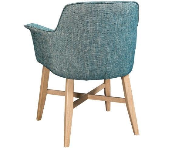Indian armstoel van PMP - Nix Design, schitterende eetkamerstoel met een geweldig comfort en design!
