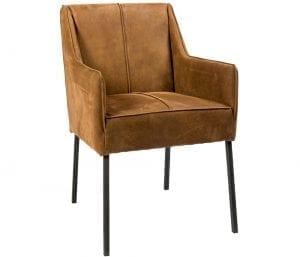 Jens armstoel van PMP - Nix Design, schitterende eetkamerstoel met een geweldig comfort en design!