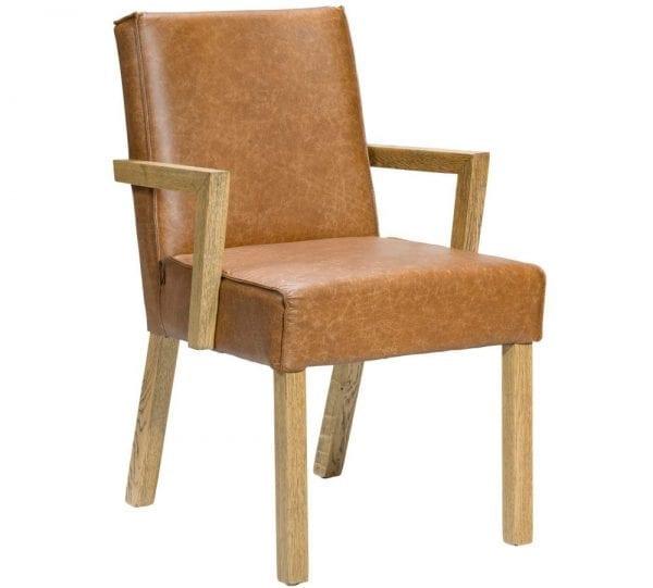 Keith armstoel van PMP - Nix Design, schitterende eetkamerstoel met een geweldig comfort en design!
