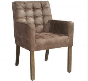 Merlot armstoel van PMP - Nix Design, schitterende eetkamerstoel met een geweldig comfort en design!