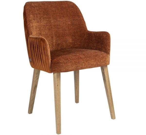 Plisse armstoel van PMP - Nix Design, schitterende eetkamerstoel met een geweldig comfort en design!