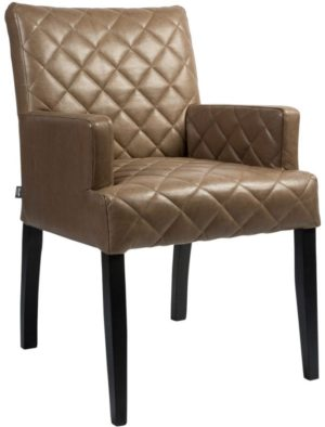 Zipper arms armstoel van PMP - Nix Design, schitterende eetkamerstoel met een geweldig comfort en design!
