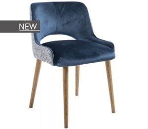 Harper eetstoel van PMP - Nix Design, schitterende eetkamerstoel met een geweldig comfort en design!
