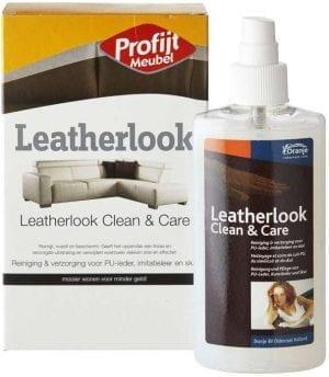 Leatherlook Clean & Care Reiniging & verzorging voor Pu-Leder, imitatieleder en skai (150 ml) Accessoires Profijt Meubel Lowik Meubelen