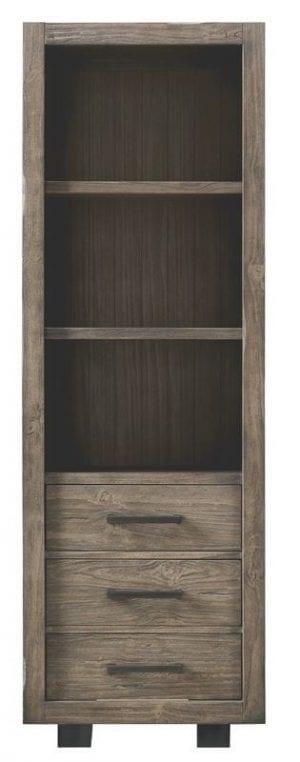 Boekenkast Alesio pine antiek grey Kasten Pronto Wonen Lowik Meubelen