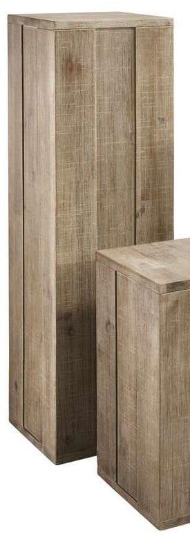Pedestal Bassano 100x30 rough warm grey_Tafels_Pronto Wonenlowikmeubelen