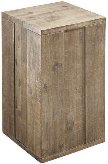 Pedestal Bassano 50x30 rough warm_Tafels_Pronto Wonenlowikmeubelen