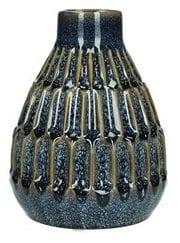 Vaas Fioranti ceramic blauw uit de woonaccessoires Pronto Wonen Lowik Meubelen Ceramic blauw