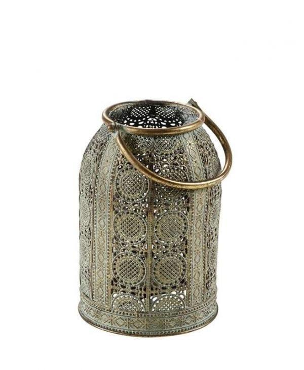Metalen lantaarn 23cm_Accessoires_Pronto Wonenlowikmeubelen