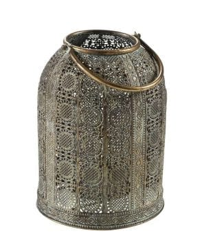 Metalen lantaarn 30cm_Accessoires_Pronto Wonenlowikmeubelen