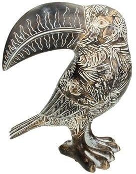 Ornament Fioranti bruin uit de woonaccessoires Pronto Wonen Lowik Meubelen Bruin