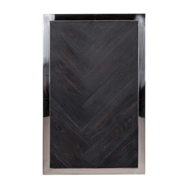 Bijzettafel Blackbone silver  Top: Oak