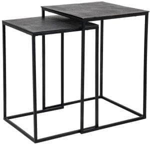 Table Jaysen square set of 2  , uit de Tafels collectie - Salontafels - Löwik Wonen & Slapen Vriezenveen