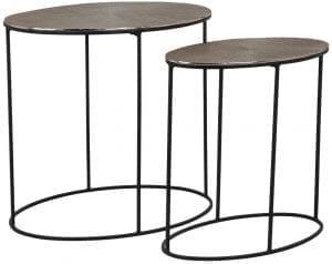 Table Jude set of 2 oval  , uit de Tafels collectie - Salontafels - Löwik Wonen & Slapen Vriezenveen