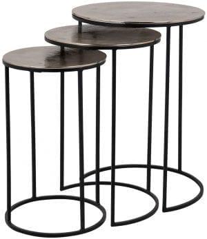 Table Nolan set of 3  , uit de Tafels collectie - Salontafels - Löwik Wonen & Slapen Vriezenveen
