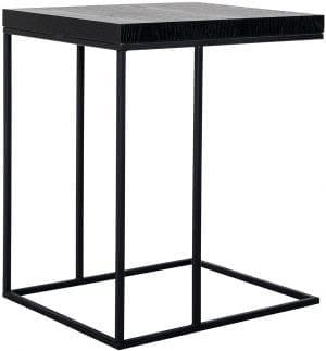 Sofa tafel Oakura Zwart Top: Eiken Fineer
