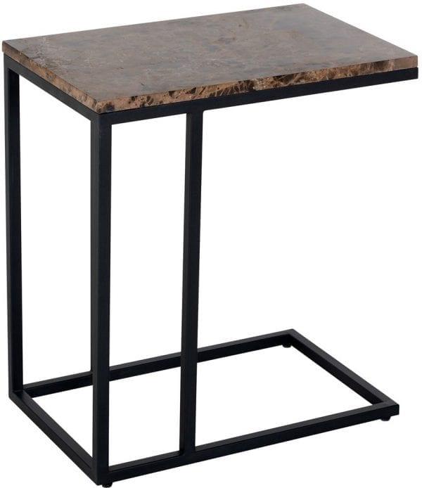 Sofa tafel Orion met bruin marmer  Top: Marmer Emparador