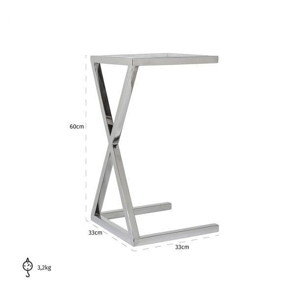 Legs: Stainless Steel, uit de Paramount collectie - Klein meubels - Löwik Wonen & Slapen Vriezenveen