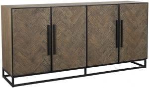 Dressoir Herringbone 4-deuren  Base: Old oak