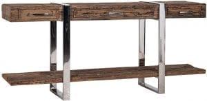 Dressoir Kensington  RVS/Recycled hout, uit de Shiny Kensington collectie - Dressoirs - Löwik Wonen & Slapen Vriezenveen