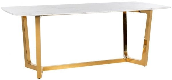 Eettafel Dynasty 200  Top: Replica Marmer