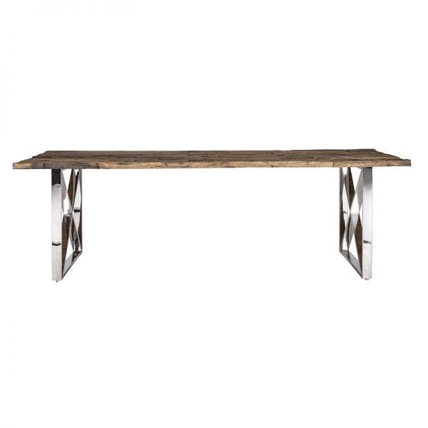 Legs: Stainless Steel, uit de Shiny Kensington collectie - Eettafels - Löwik Wonen & Slapen Vriezenveen