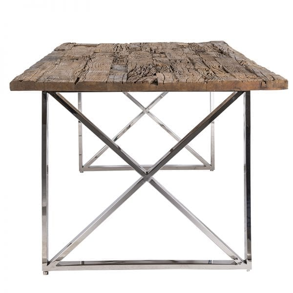 Eettafel Kensington 180x100  Top: Recycled Wood