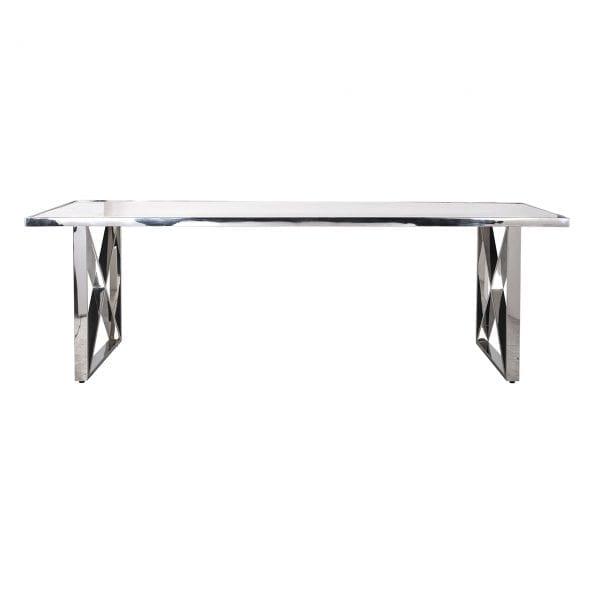 Legs: Stainless Steel, uit de Levanto, Marble collectie - Eettafels - Löwik Wonen & Slapen Vriezenveen