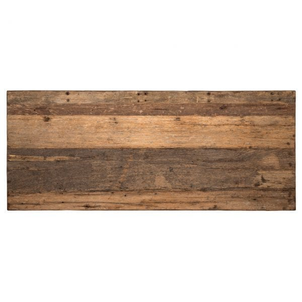 Eettafel Raffles 200, Recyceld hout  Top: Recycled wood