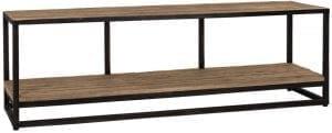 TV-Dressoir Raffles, Recyceld hout  Top: Recycled wood