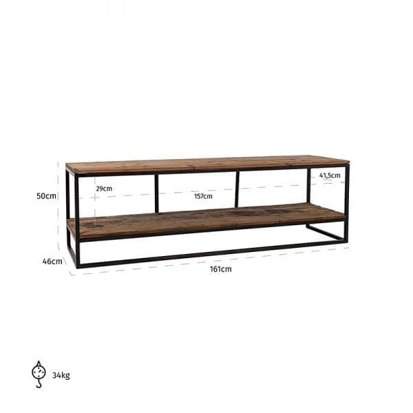 Legs: Iron, uit de Raffles collectie - TV-meubels - Löwik Wonen & Slapen Vriezenveen