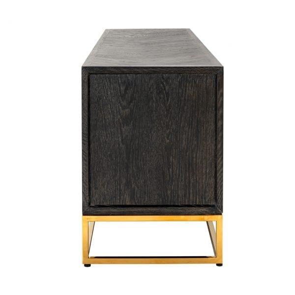 Frame: RVS, uit de Blackbone Gold collectie - TV-meubels - Löwik Wonen & Slapen Vriezenveen