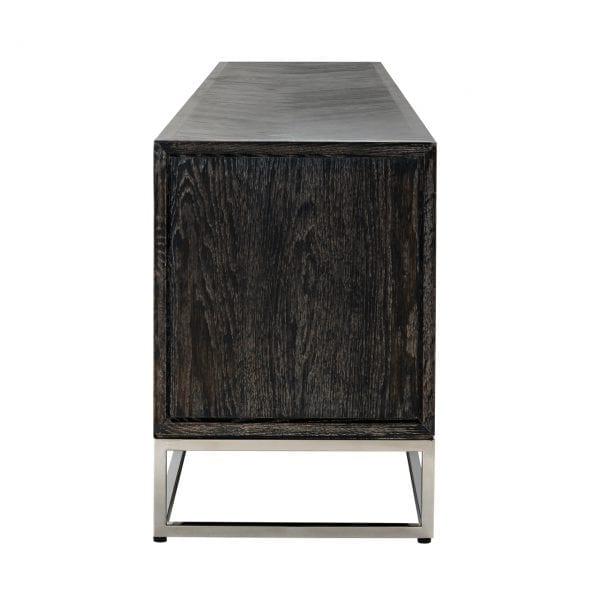 Frame: RVS, uit de Blackbone Silver collectie - TV-meubels - Löwik Wonen & Slapen Vriezenveen
