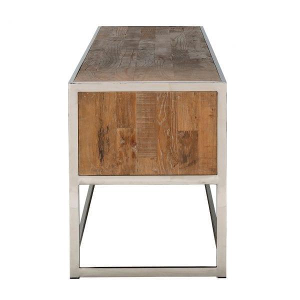 Poten/frame: RVS, uit de Industrial Maddox collectie - TV-meubels - Löwik Wonen & Slapen Vriezenveen