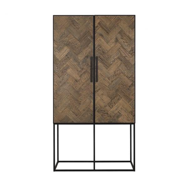 Wandkast Herringbone 2-deuren  Top: Old oak