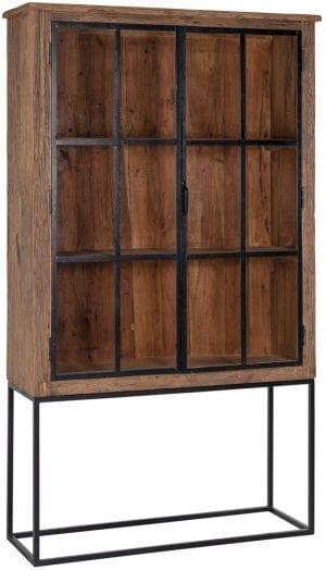 Wandkast Raffles 2-deuren  Top: Gerecycled hout