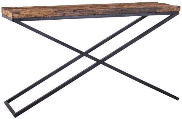 Wandtafel Industrial Kensington  Iron/Recycled wood, uit de Industrial Kensington collectie - Wandtafels - Löwik Wonen & Slapen Vriezenveen