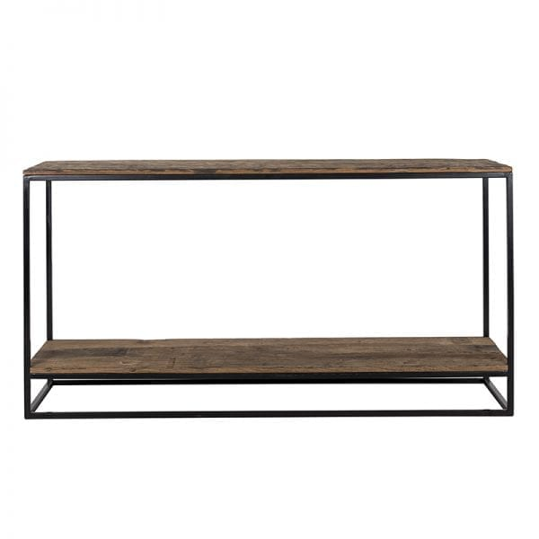 Wandtafel Raffles, Recyceld hout  Top: Recycled wood