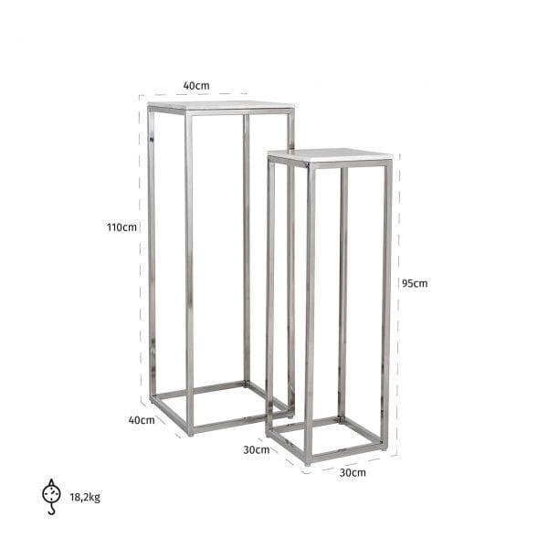 Legs: Stainless Steel, uit de Levanto collectie - Klein meubels - Löwik Wonen & Slapen Vriezenveen