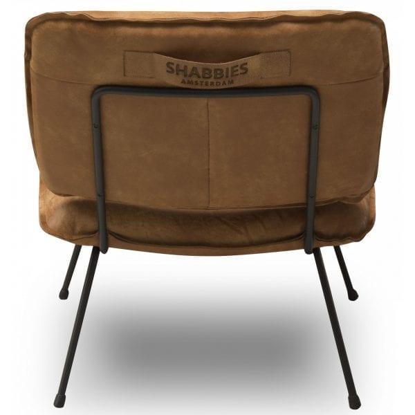Shabbies fauteuil Caramba - Africa leder walnut