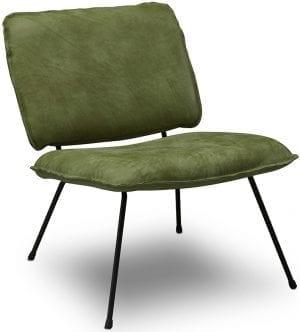Caramba fauteuil Het Anker - Africa leder olive
