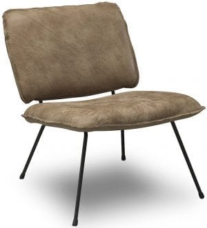 Caramba fauteuil Het Anker - Africa leder Lontra