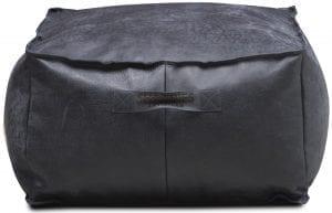 Shabbies Amarone poef - black